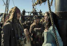 Johnny Depp e Kaya Scodelario in Pirati dei Caraibi – La vendetta di Salazar