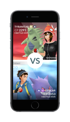Pokemon GO le nuove Gym Battles