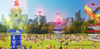 Pokemon GO il nuovo sistema delle Palestre