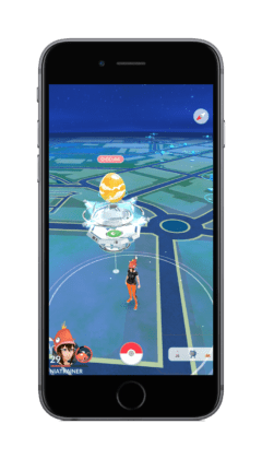 Pokemon GO Raid nelle Palestre