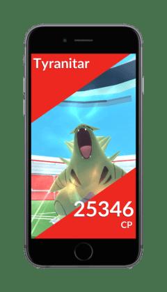 Pokemon GO Raid Boss raro