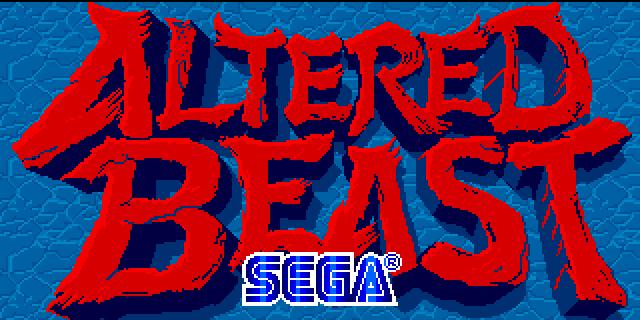 Altered Beast Logo