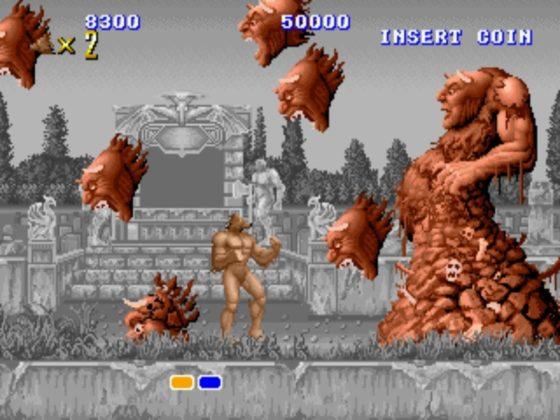 Altered Beast - Boss 1st level