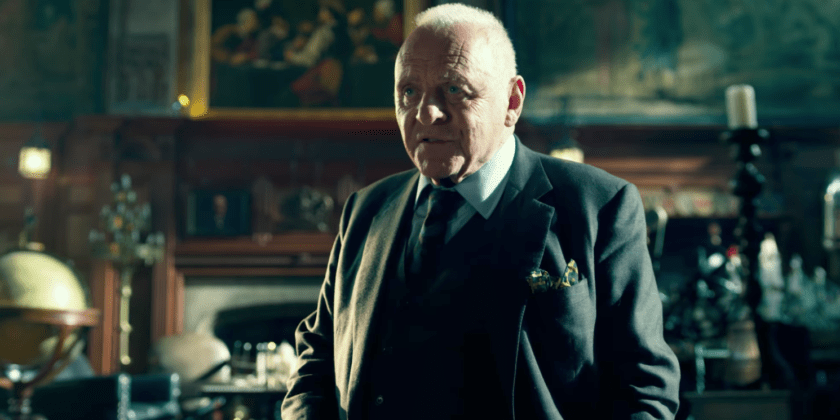 Anthony Hopkins in Transformers l'ultimo cavaliere