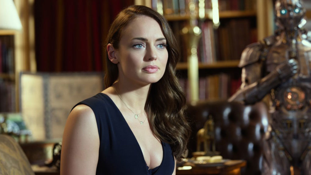 Laura Haddock in Transformers l'ultimo cavaliere