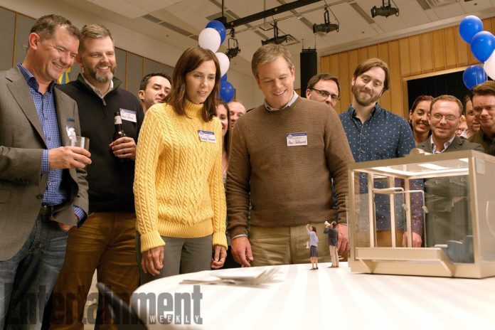 Downsizing con Matt Damon e Kristen Wiig