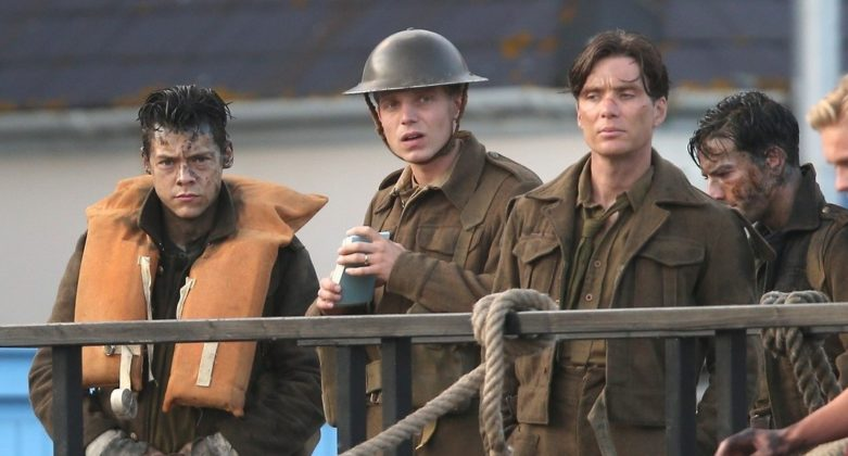 Harry Styles e Cillian Murphy in Dunkirk