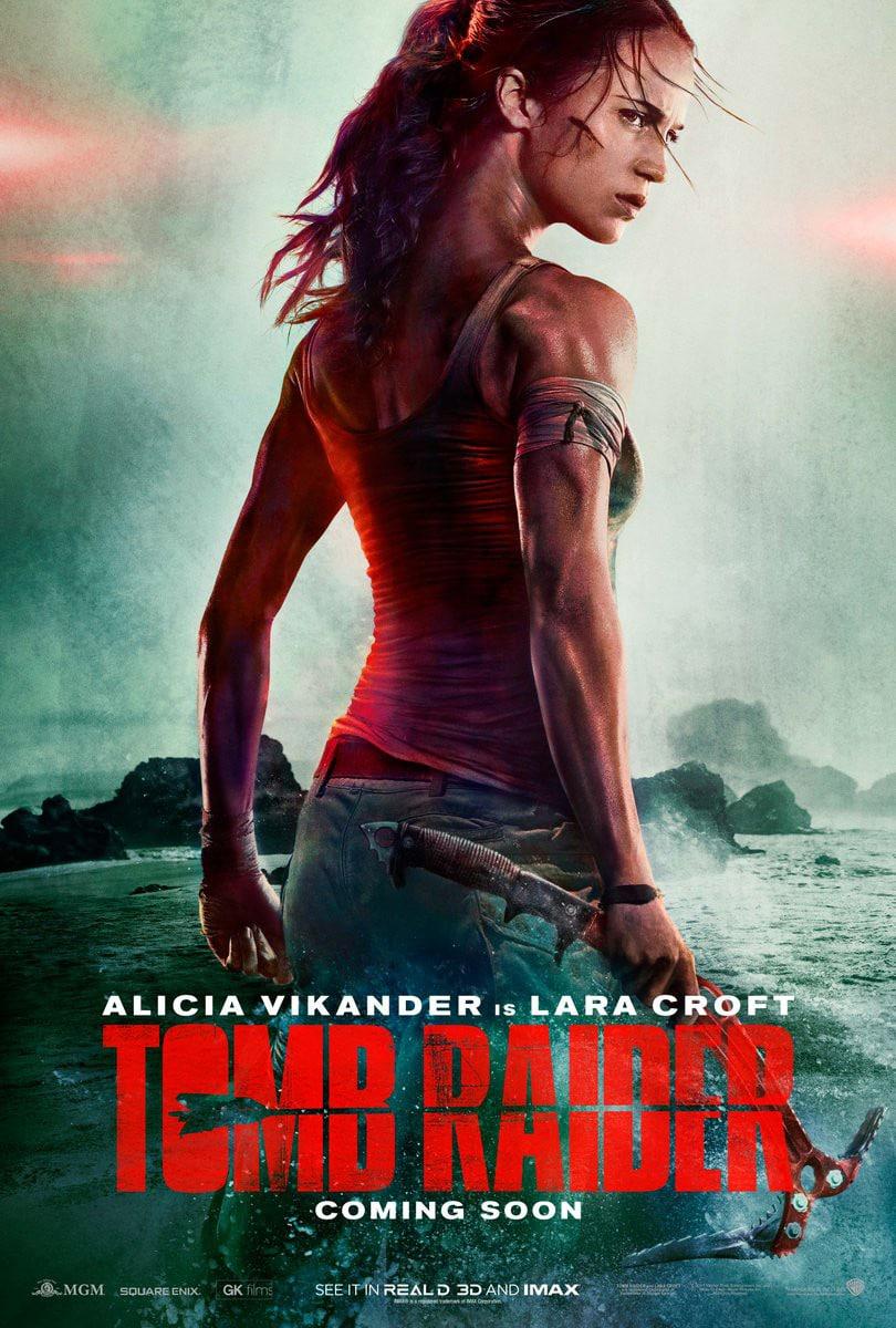Tomb Raider con Alicia Vikander