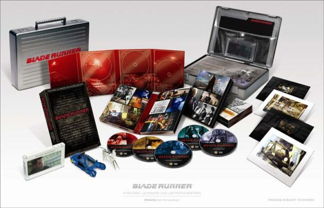 Blade Runner Ultimate Deckard briefcase box set