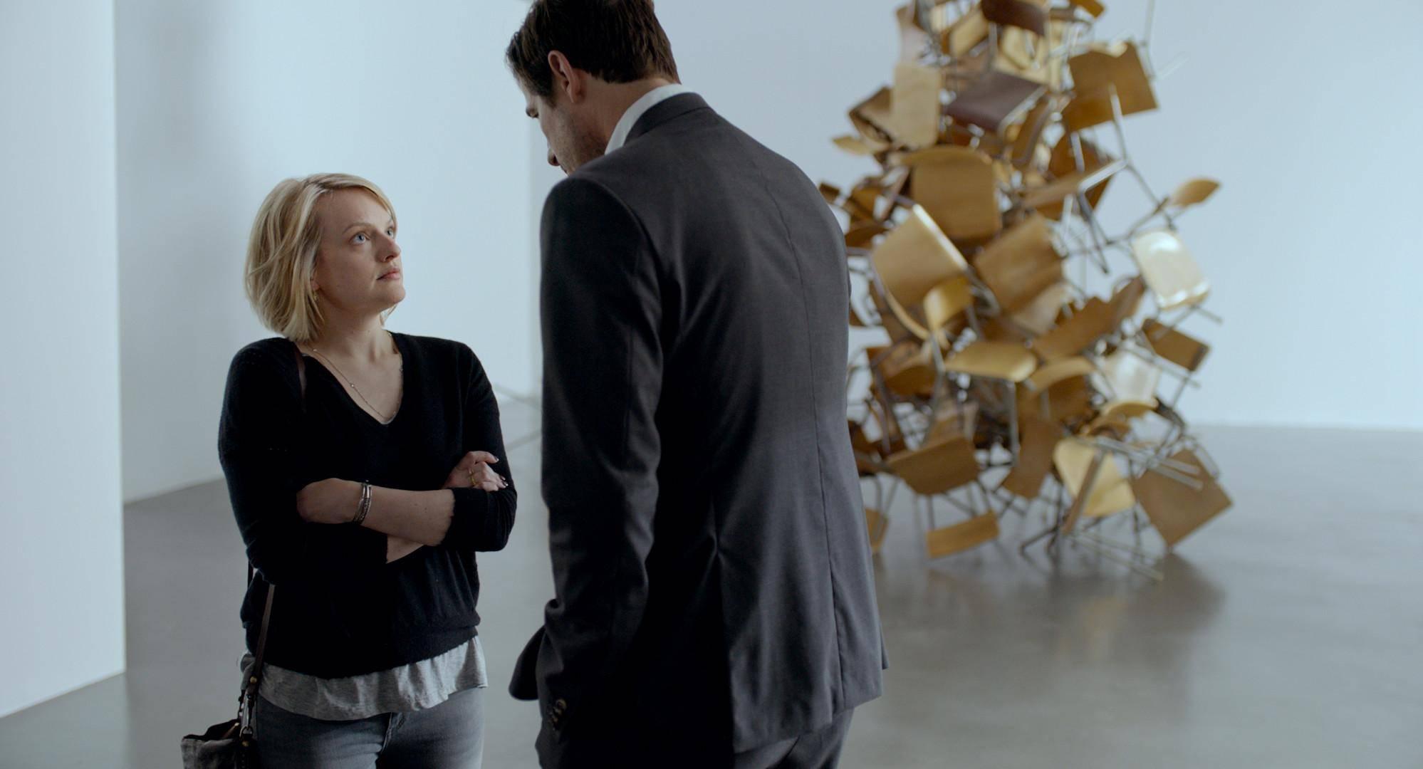 Elisabeth Moss e Claes Bang