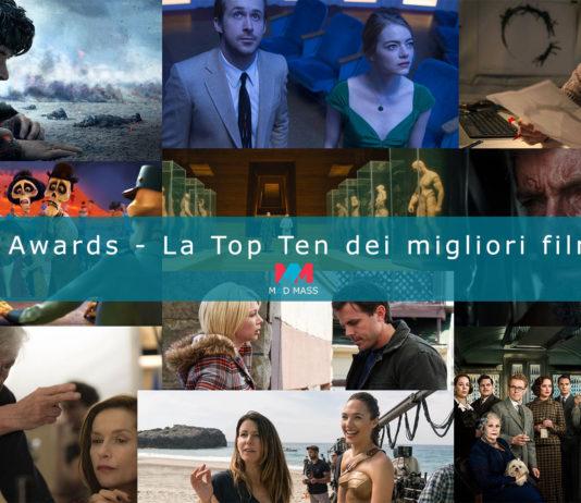 Maddy Awards - Classifica Migliori Film 2017