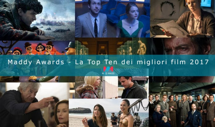 Maddy Awards - Classifica Migliori Film 2017