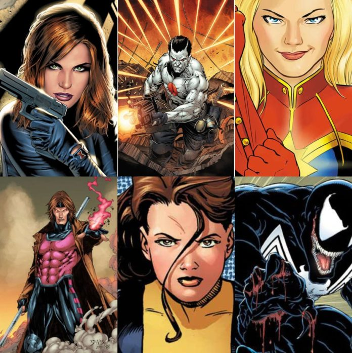 Da Black Widow a Venom