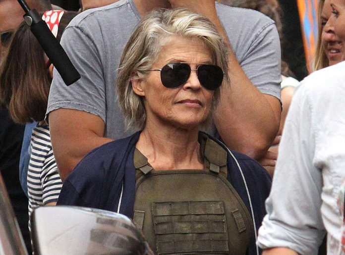 Sarah Connor in Terminator 6