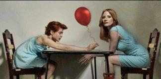 Sophia Lillis e Jessica Chastain