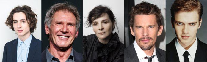 Timothée Chalamet, Harrison Ford, Juliette Binoche, Ethan Hawke, Hayden Christensen
