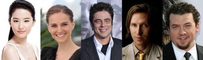 Liu Yifei, Natalie Portman, Benicio Del Toro, Wes Anderson, Danny McBride