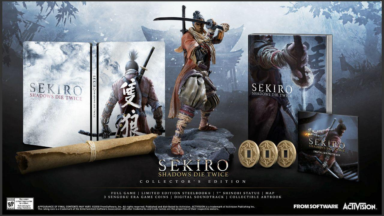 Sekiro: Shadows Die Twice alla Gamescom