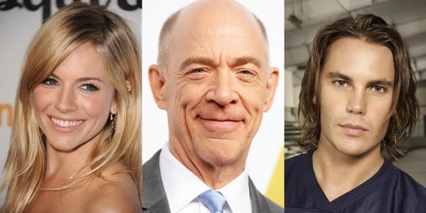 Sienna Miller, J.K. Simmons e Taylor Kitsch
