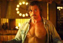 7 Sconosciuti a El Royale: Chris Hemsworth nudo in una scena del film