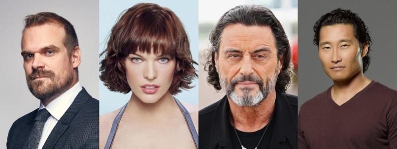 David Harbour, Milla Jovovich, Ian McShane, Daniel Dae Kim
