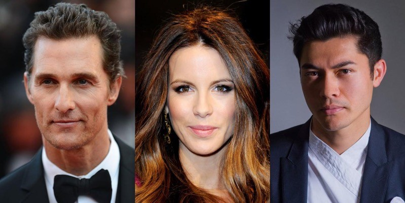 Matthew McConaughey, Kate Beckinsale, Henry Golding