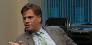 Aaron Sorkin nel suo cameo in The Social Network