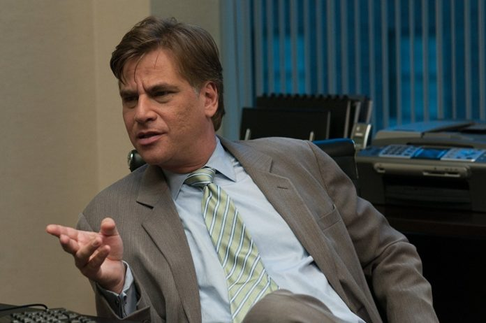 Aaron Sorkin nel suo cameo in The Social Network