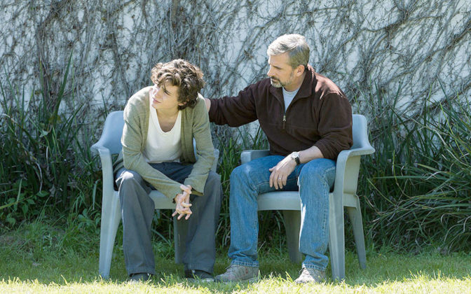 Beautiful Boy con Steve Carell e Timothée Chalamet