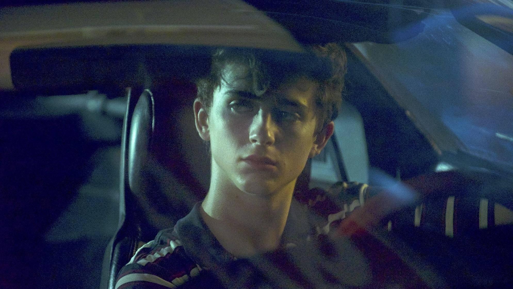 Timothée Chalamet in Hot Summer Nights presentato alla Festa del Cinema di Roma