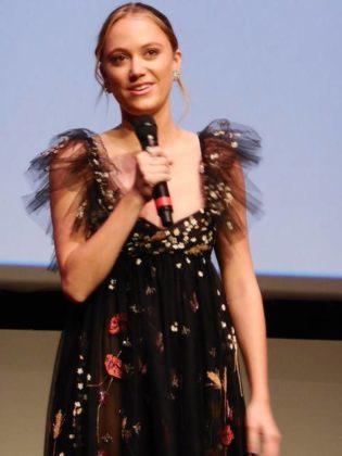 Maika Monroe alla Festa del Cinema di Roma per Hot Summer Nights