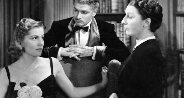 Joan Fontaine, Laurence Olivier e Judith Anderson nel film del 1940