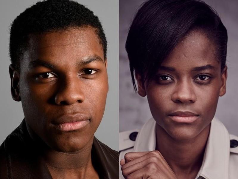 John Boyega e Letitia Wright