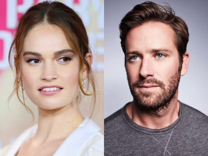 Lily James, Armie Hammer