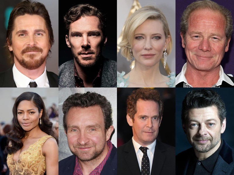 Il cast di Mowgli che non vedremo sullo schermo: Christian Bale, Benedict Cumberbatch, Cate Blanchett, Peter Mullan, Naomie Harris, Eddie Marsan, Tom Hollander, Andy Serkis