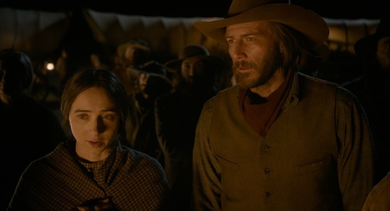 Zoe Kazan (Alice Longabaugh) con Bill Heck (Billy Knapp)