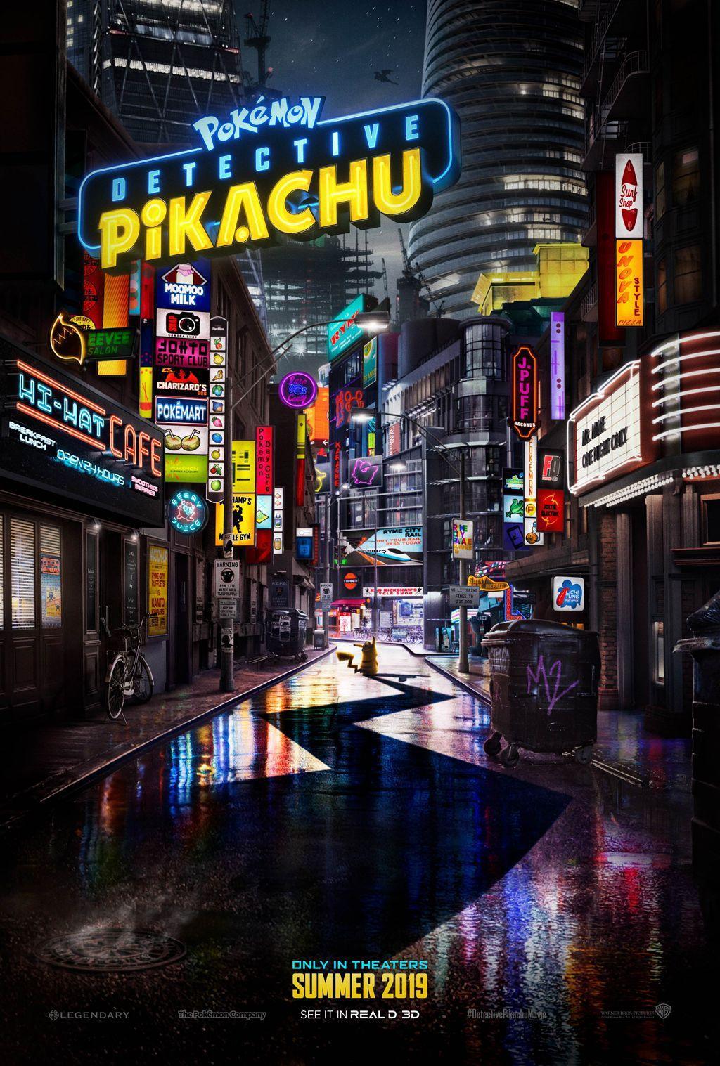 POKÉMON Detective Pikachu: Il Poster