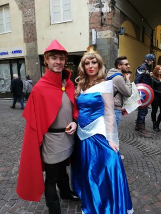 Cosplayer a Lucca Comics 2018