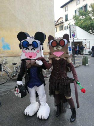 Spank e Torakiki a Lucca Comics 2018