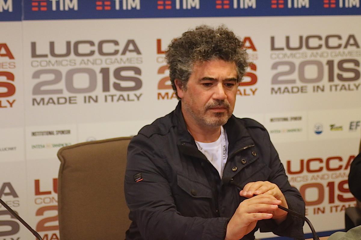 Miltos Yerolemou Lucca Comics 2018