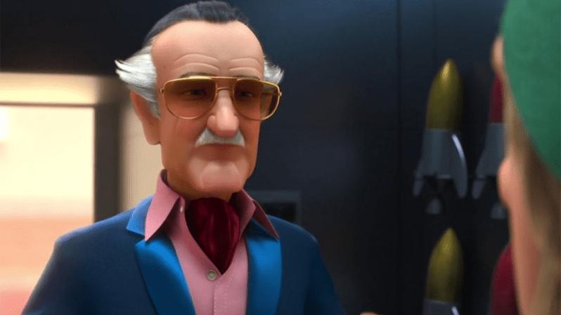 Stan Lee in Incredibles 2