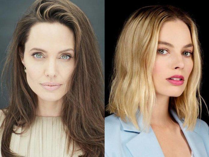 Angelina Jolie e Margot Robbie