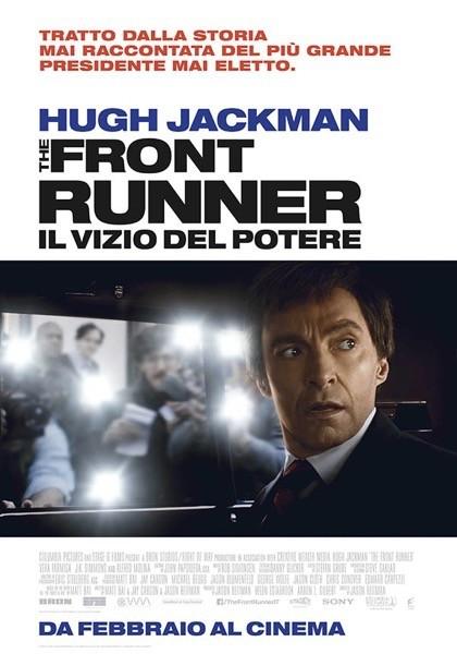 The Front Runner - Il Vizio Del Potere Teaser Poster Italia