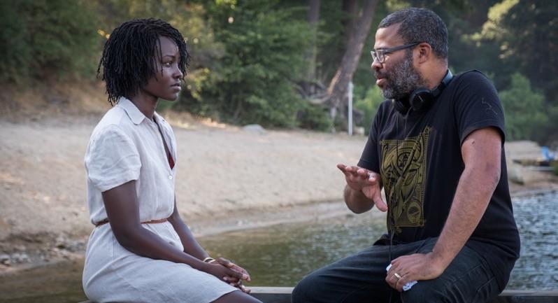Noi - Lupita Nyong'o e il regista Jordan Peele