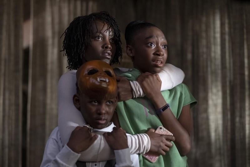 Lupita Nyong'o, Evan Alex e Shahadi Wright Joseph