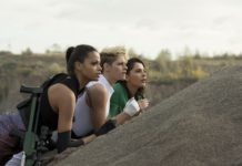 Le nuove Charlie's Angels: Ella Balinska, Kristen Stewart, Naomi Scott