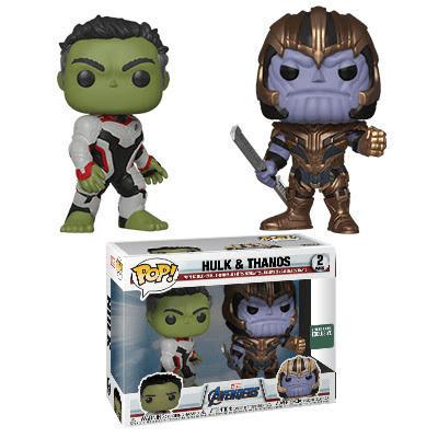 Hulk e Thanos Funko Pop