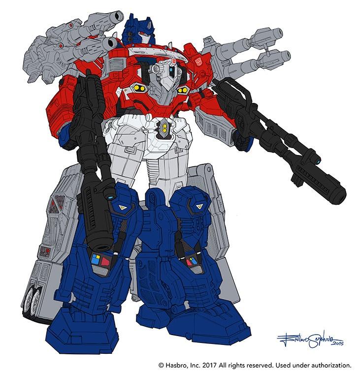 Concept design di Optimus Prime