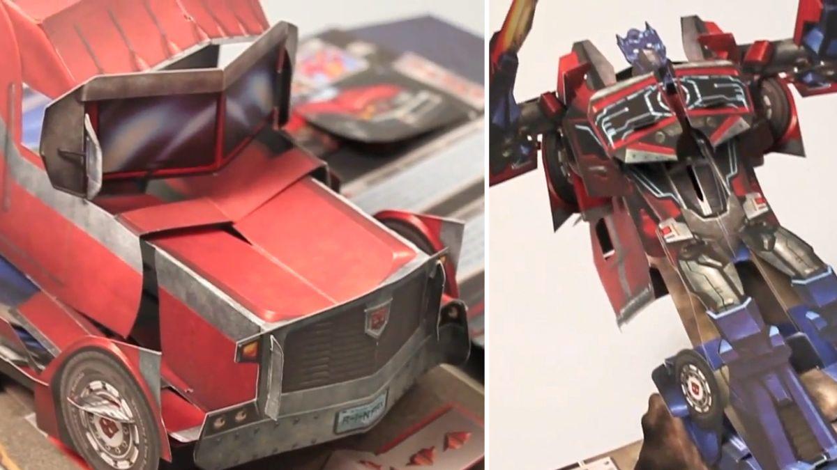 Transformers Pop Up Book