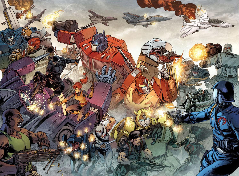 G.I. Joe e Transformers: il crossover